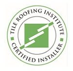 Tile roofing institute certified installer logo