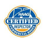 HAAG certified inspector commercial roofs logo