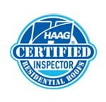 HAAG certified inspector residential roofs logo