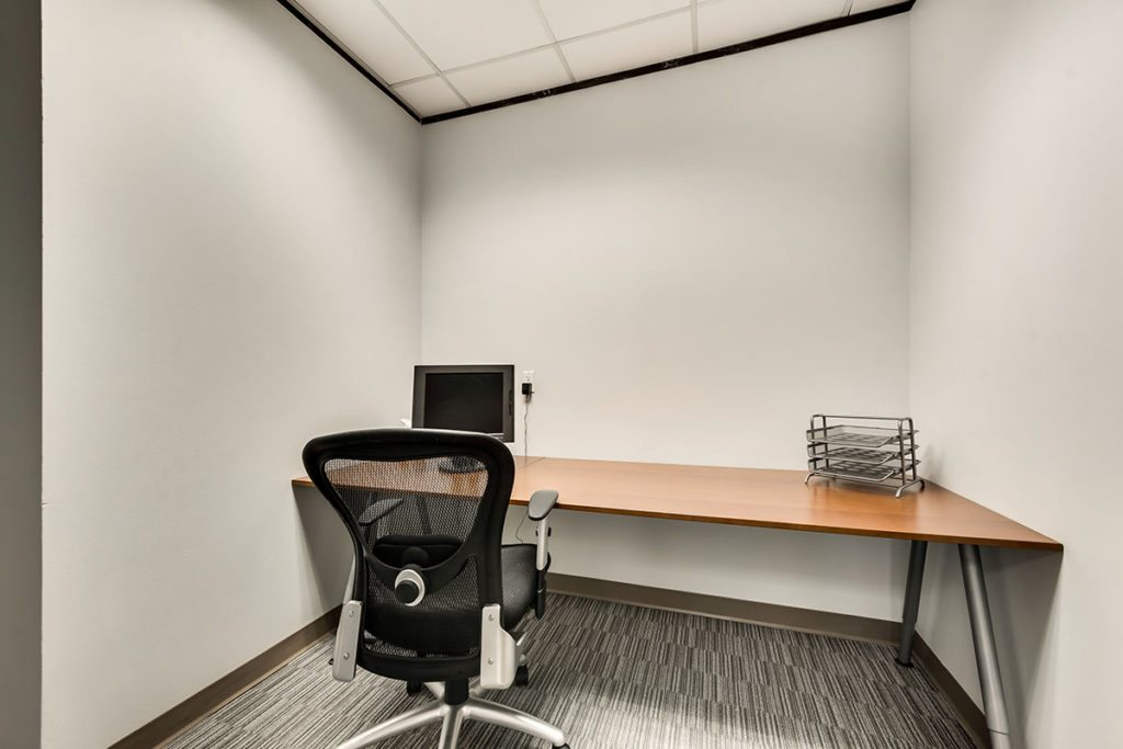 Small office with desk