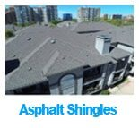 Asphalt commercial roofing project in Dallas, Texas.