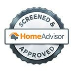 Home Advisor Screened and Approved Seal