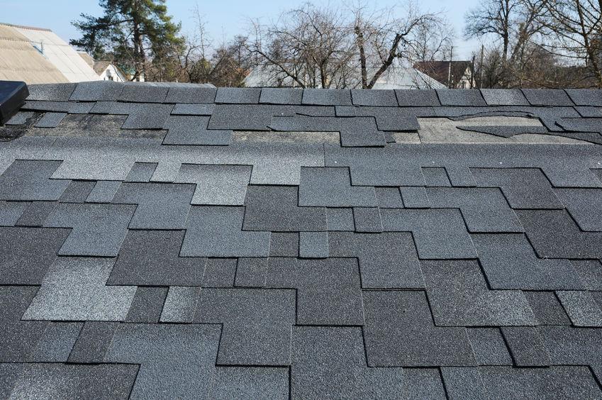Wind Storm Damage Roof